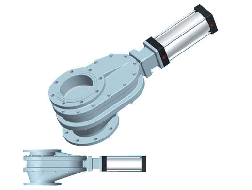 PG双闸气锁耐磨陶瓷进料阀D型